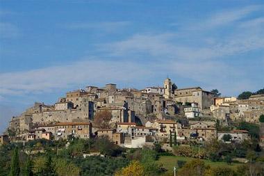 l'antico abitato di Castiglione in Tev.