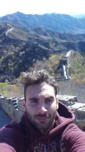 Tommaso Morelli sulla Grande Muraglia